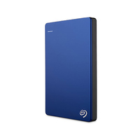 Seagate Backup Plus Portable External Hard Drive 2TB Blue