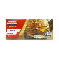 Americana Jumbo Beef Burgers 4 Pieces 400 g