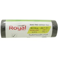 Royal Classic Heavy Duty Garbage Bags 90 x 110cm 60 Gallons 20 Bags