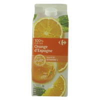 Carrefour Orange Juice With Pulp 1L