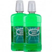 Enliven Fresh Mint Mouthwash 500ml x2