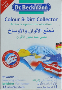 Dr. Beckmann Colour & Dirt Collector 10's