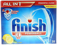 Finish All In1 Powerball Lemon 28 Tab's