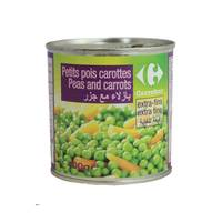 Carrefour Peas And Carrot 400 Gram