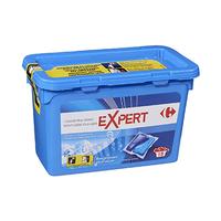 Carrefour Lessive Expert Blanc Et Couleurs Bleu 24.5ML X 18