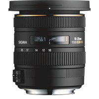 Sigma Lens 10-20MM F/3.5EX DC For Canon