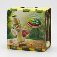 ليبتون شاي مثلج ياسمين ليتشي 275 مل × 6