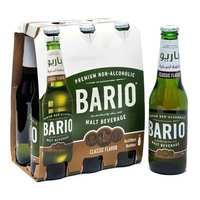 باريو شراب شعير كلاسيك زجاج 330 مل 6 حبات