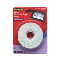 Scotch Foam Mounting Tape 1/2 X 150