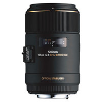 SIGMA Lens 105MM F/2.8EX DG OS For Canon