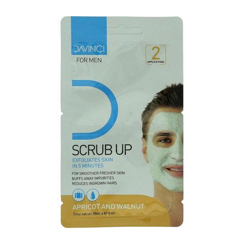 Davinci-Scrub-Up-Exfoliates-Skin-In-5-Minutes-Apricot-And-Walnut-20ml
