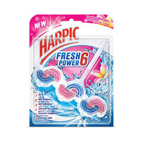 Harpic Fresh Power 6 Toilet Cleaner Tropical Blossom 39GR