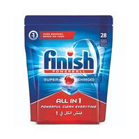Finish Dishwasher Detergent Tabs Original 28S