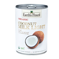 Earth`s Finest Organic Coconut Milk Light 400ml