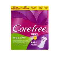 Carefree Ladies Pads Large Aloe Vera 48 Napkins