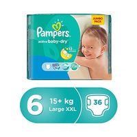 Pampers Diapers Jumbo Pack Size 6 36 Diaper 12% Off