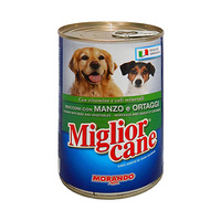 Miglior Cane Dog Food With Beef & Vegetables 405GR