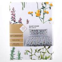 TEX Quilt Cover Single White