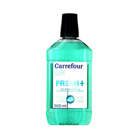 Carrefour Mouthwash Solution Dentaire Fresh 500ML