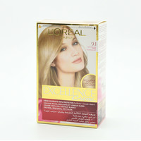 L'Oreal Paris Excellence Crème 9.1 Very Light Ash Blonde