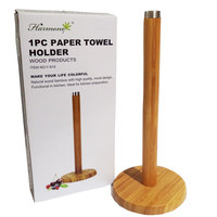 Paper Towel Holder Wooden 12Cm