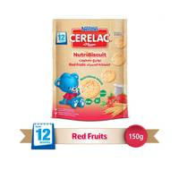 Nestle Cerelac Nutri Biscuit Red fruits 150g