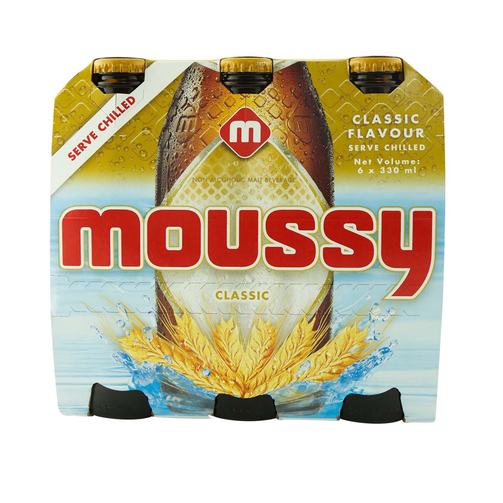 MOUSSY N/A LIGHT BEER NRB 330MLX6