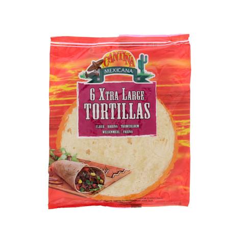 Cantina-Mexicana-6-Xtra-Large-Tortillas-360-g