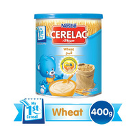 Nestlé Cerelac Infant Cereal Wheat With Milk From 6 Months 400GR Tin