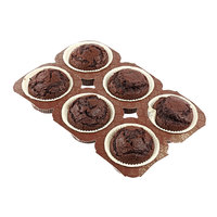 Chocolate Muffins 6 Pieces