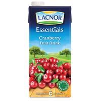 Lacnor Essentials Cranberry Fruit Drink 1L