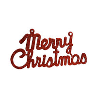 Merry Christmas Glitter Letters 30CM