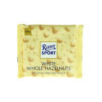 Ritter Sport White Whole Hazelnuts 100g