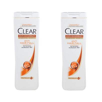 CLEAR ANTI HAIR FALL 360MLX2-25%
