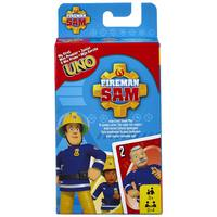 Mattel Uno Card Game -Junior Fireman Sam
