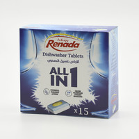 Renada Dishwasher Tablets x 15 Pieces
