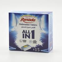 رينادا أقراص غسيل الصحون - 15 حبة