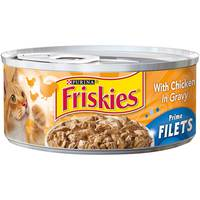 Purina Friskies Prime Filets Chicken Wet Cat Food 156 g