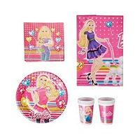 Mattel Invitation Card Barbie Cute Pets 6 Pieces