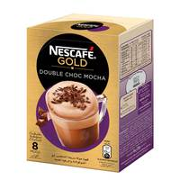 Nescafe Gold Double Choc Mocha 23g x8