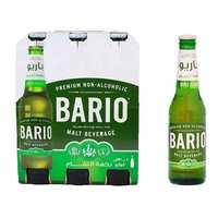 باريو شراب شعير بنكهة التفاح زجاج 330 مل 6 حبات