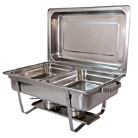 Master Chef Chaffing Dish 2X4L S/St
