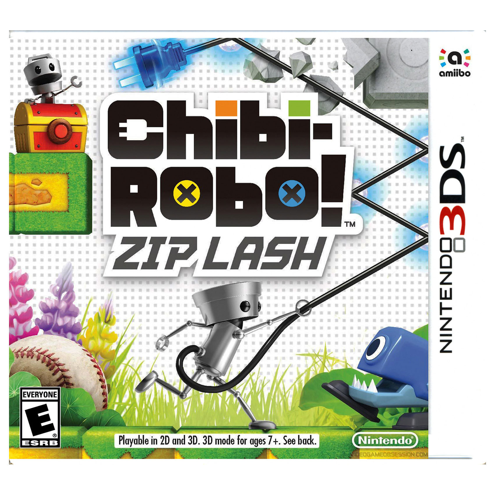 NINTENDO 3DS CHIBI ROBO ZIP FLASH