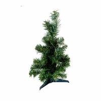 Christmas Green Tree Pvc Plastic Feet 40 Cm 42 Tips