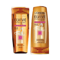L'Oreal Paris Elvive Shampooing Extraordinary Oil For Dry Hair 400ML + Conditioner 200ML 25%