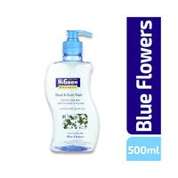 Higeen Hand & Body Liquid Soap Blue Flowers 500ML