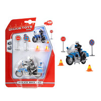 Dickie - Police Bike Set