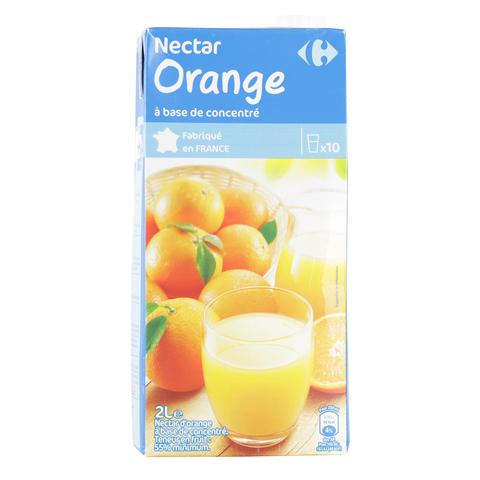 Carrefour-Orange-Nectar-2L