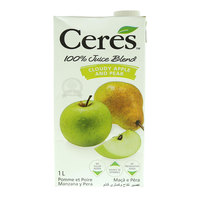 Ceres Cloudy Apple & Pear Juice Blend 1L