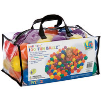 Intex Ball Toyz Fun Ballz  100 Pcs Plastic Balls Bag